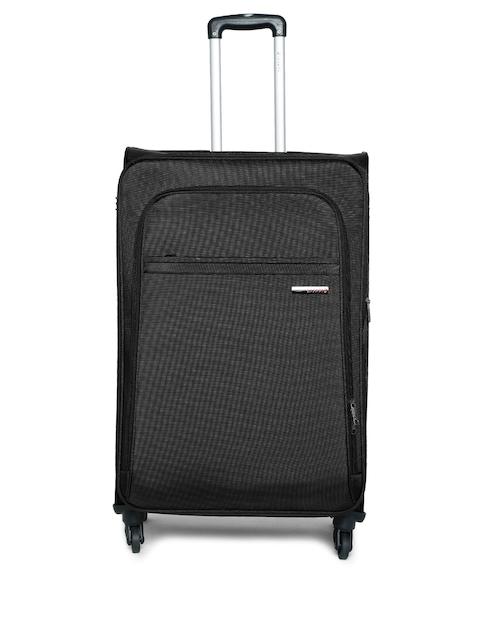 Safari Unisex Black Nifty Medium Trolley Bag