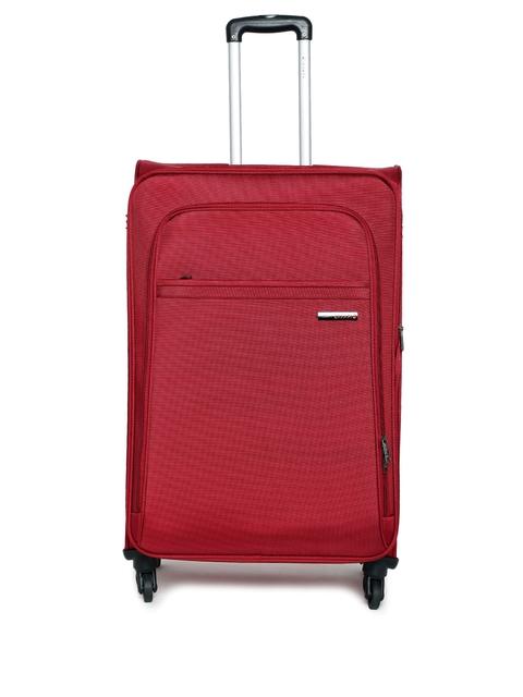 Safari Unisex Maroon Nifty Large Trolley Bag