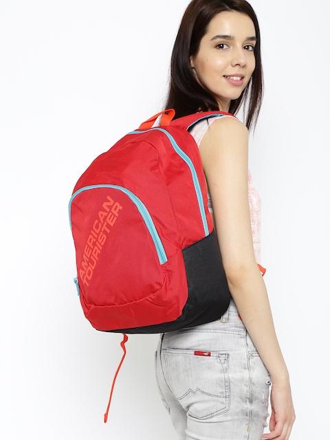 AMERICAN TOURISTER Unisex Red Jasper Backpack