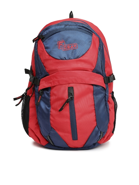 F Gear Unisex Navy & Red Backpack