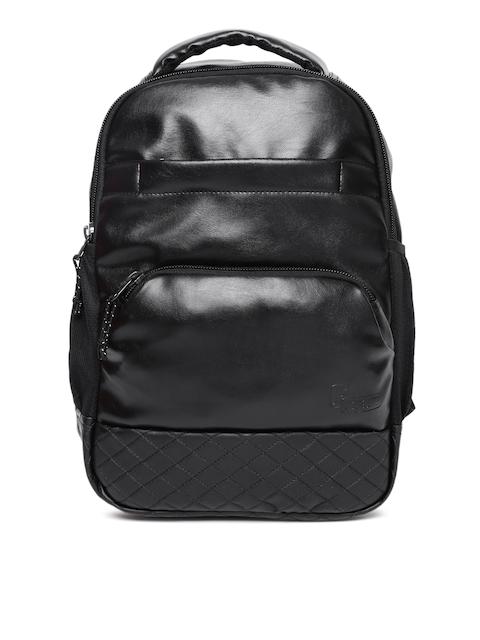 F Gear Unisex Black Luxur Laptop Backpack
