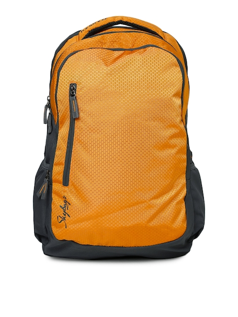 Skybags Unisex Orange & Grey Footloose Blitz 03 Backpack  available at myntra for Rs.1196