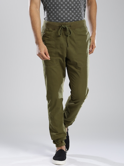French Connection Olive Green Jogger Trousers