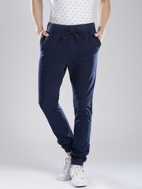 French Connection Navy Jogger Trousers