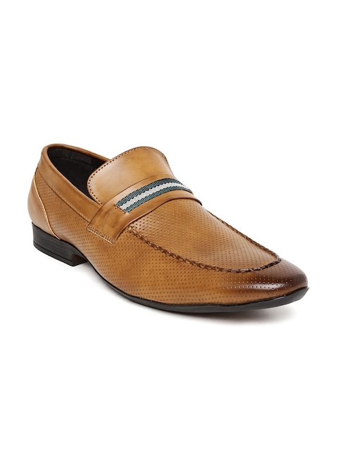 San Frissco Men Brown Semiformal Slip-Ons