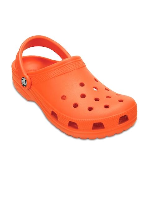 Crocs Men Orange Clogs