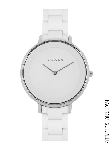 SKAGEN DENMARK Women White Dial Watch SKW2300