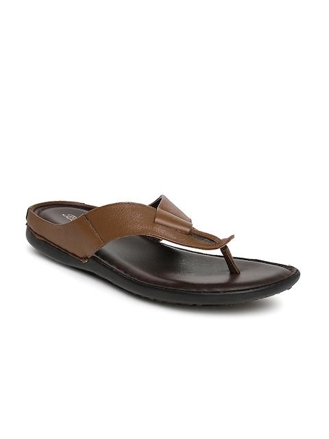 Bata Men Brown Supremo Sandals