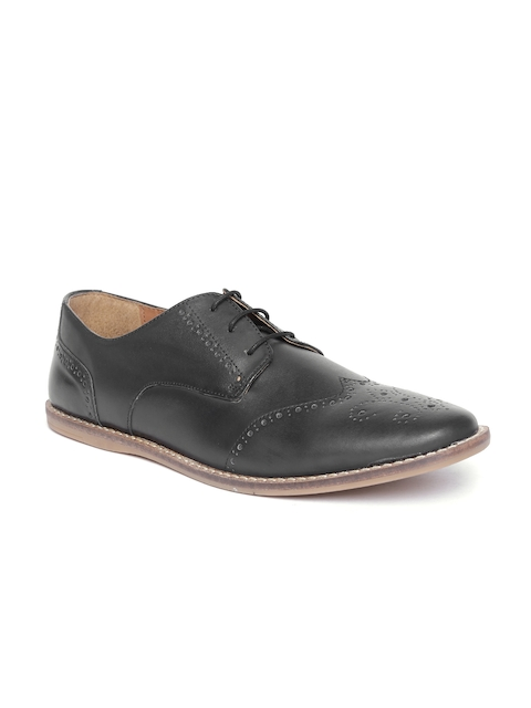 Knotty Derby by Arden Men Black Brogues
