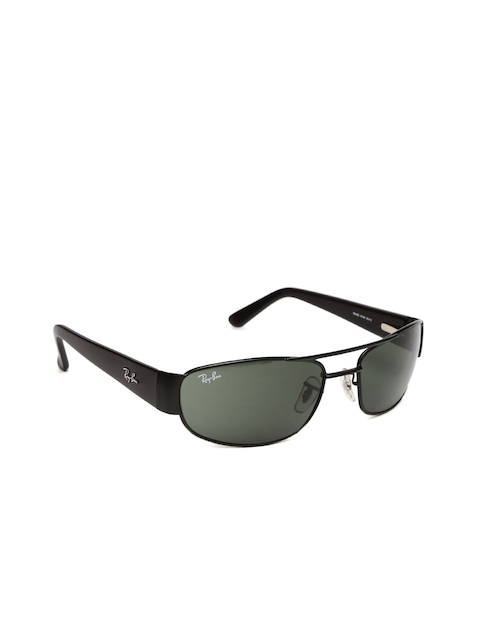 Ray-Ban Men Rectangle Sunglasses 0RB3052IW318060