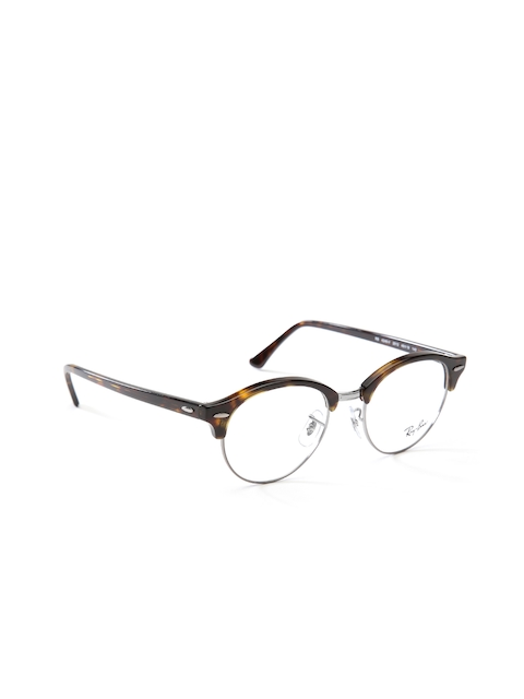 Ray-Ban Unisex Brown Printed Clubmaster Frames 0RX4246V201249
