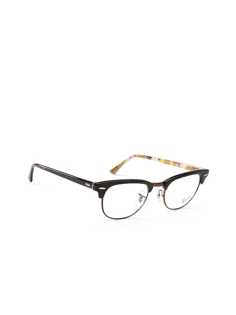 Ray-Ban Unisex Brown Printed Clubmaster Frames 0RX5154565049