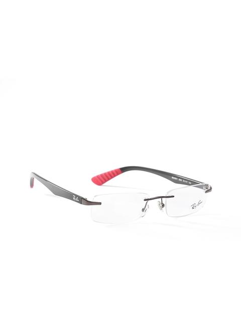 Ray-Ban Men Grey Rimless Rectangular Frames 0RX6351I250251