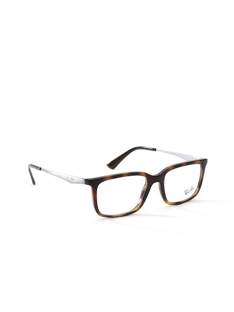 Ray-Ban Men Brown Rectangular Frames 0RX7092I201252