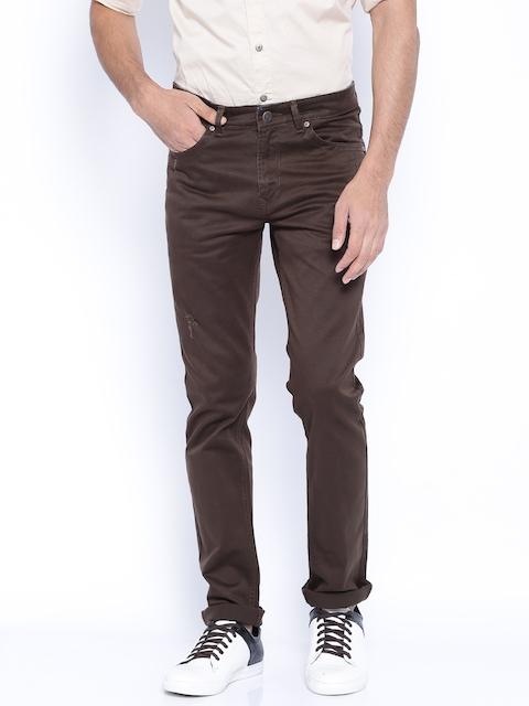 SPYKAR Brown Trousers