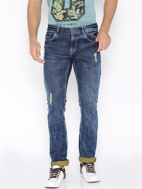 SPYKAR Blue Skinny Fit Stretchable Jeans