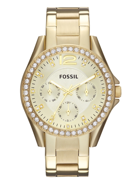Fossil Women Gold-Toned Analogue Watch ES3203