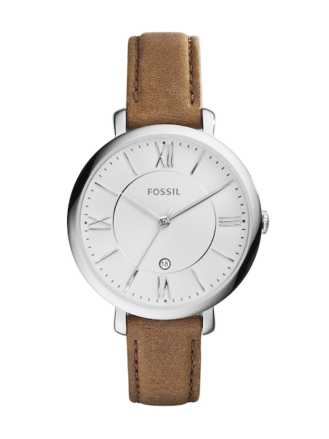 Fossil Women Silver-Toned Analogue Watch