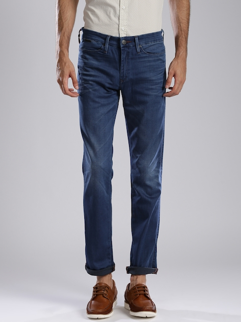 Levi's Blue Slim Fit Jeans 511  available at myntra for Rs.2994