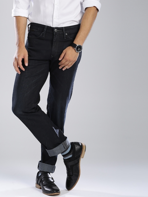 Levi's Redloop Navy Slim Fit Stretchable Jeans 511  available at myntra for Rs.2744