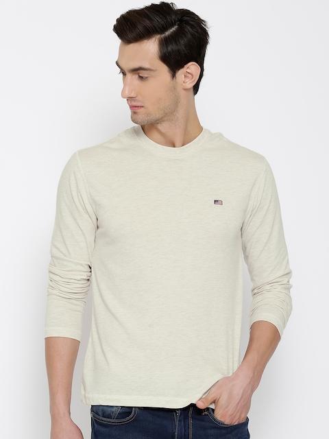 Jockey USA ORIGINALS Cream-Coloured T-shirt US82