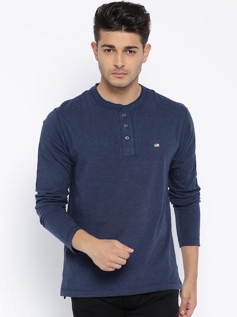Jockey Navy Blue Henley T-shirt