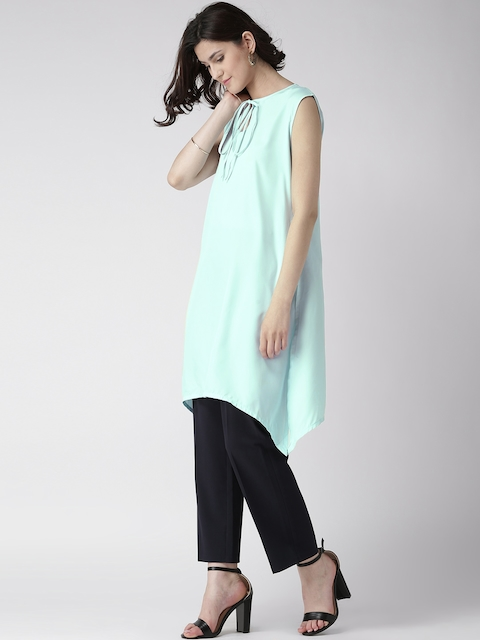 GERUA Light Blue Crepe Kurta