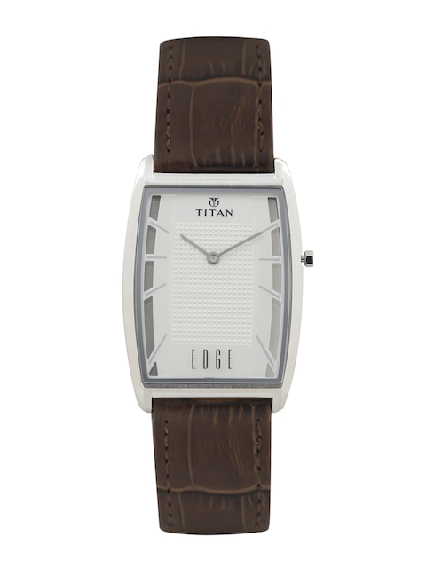 Titan Edge Men Silver-Toned Dial Watch ND1575SL01  available at myntra for Rs.7797