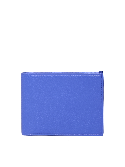 Butterflies Women Blue Textured Wallet  available at myntra for Rs.384