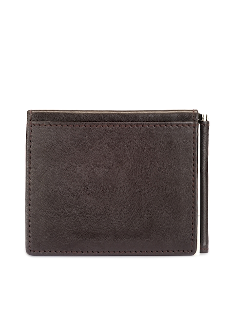 TKWD Leathers Men Brown Leather Card Holder