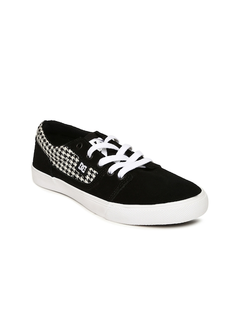 DC Women Black Tonik Sneakers