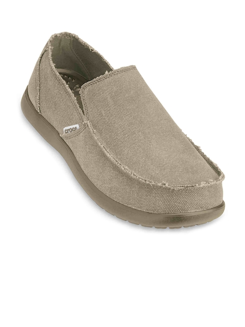 Crocs Men Khaki Casual Shoes