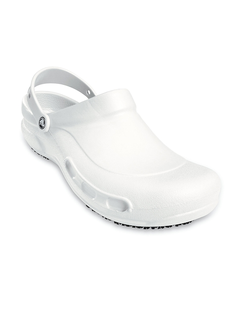 Crocs Men White Bistro Clogs