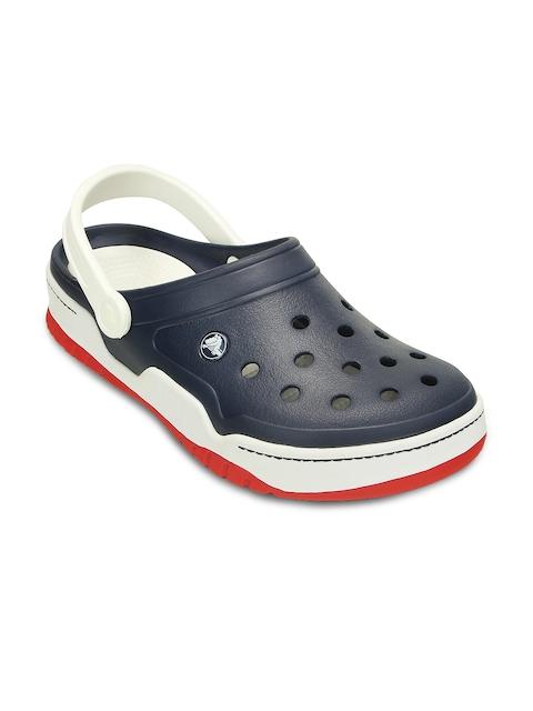 Crocs Unisex Black & White Clogs