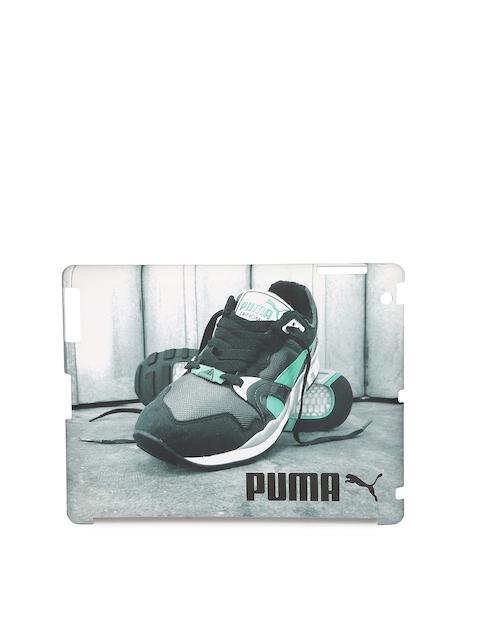 PUMA Unisex Grey Bytes Trinomic Graphic Print Tablet Case