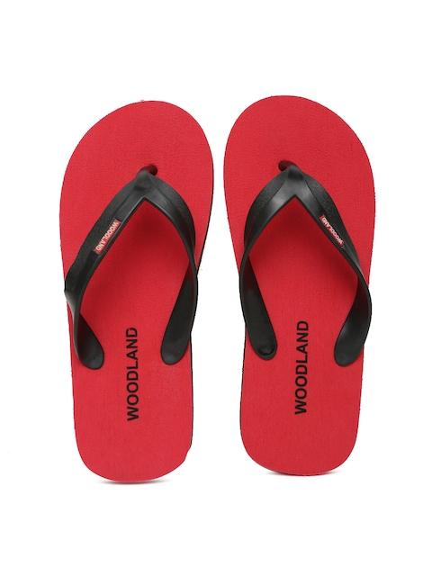Woodland ProPlanet Men Black & Red Flip-Flops