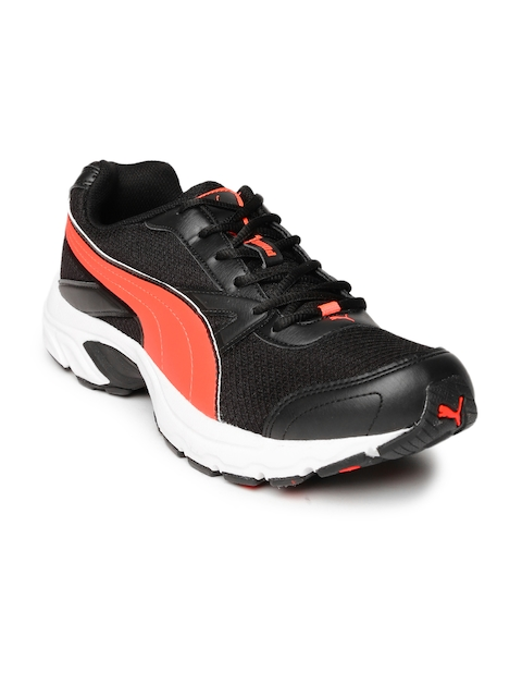 PUMA Men Black Brilliance DP Running Shoes  available at myntra for Rs.899