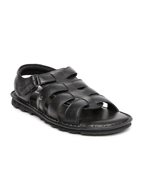 Hush Puppies Men Black Rebound Sandals