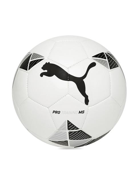 Puma Unisex White Printed Pro Training MS Football
