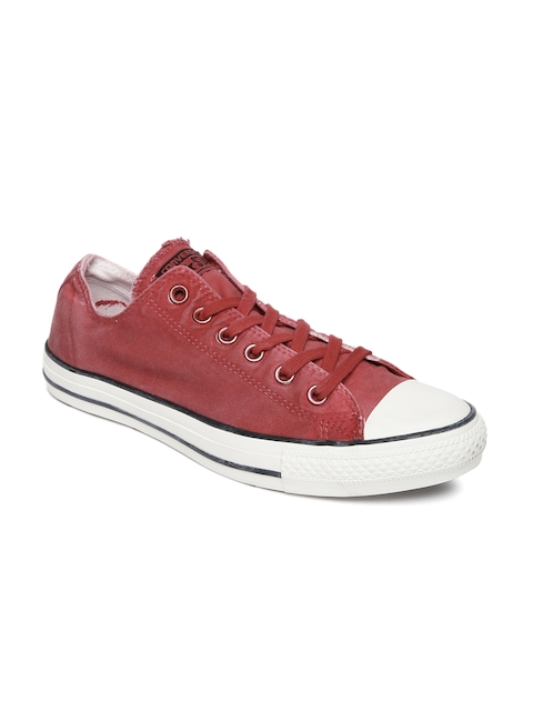 Converse Red Solid Sneakers