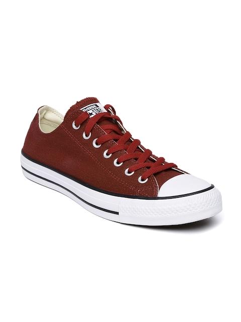 Converse Men Rust Brown Sneakers