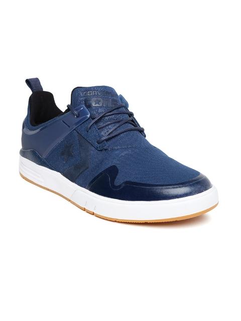 Converse Men Navy Sneakers