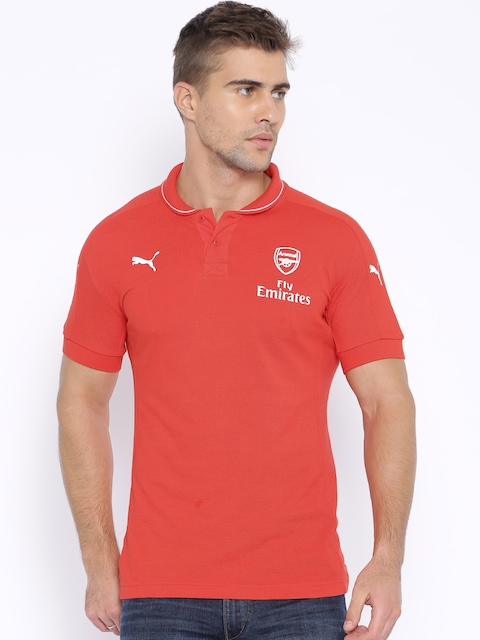 Puma Red Polo T-shirt