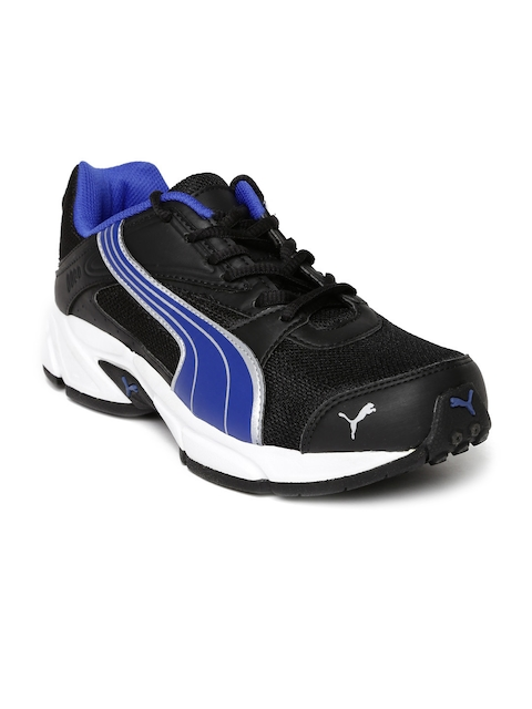 Puma Men Black & Blue Volt. II Ind. Running Shoes  available at myntra for Rs.1199