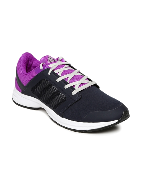 Adidas Men Navy KRAY 1.0 W Colourblocked Running Shoes