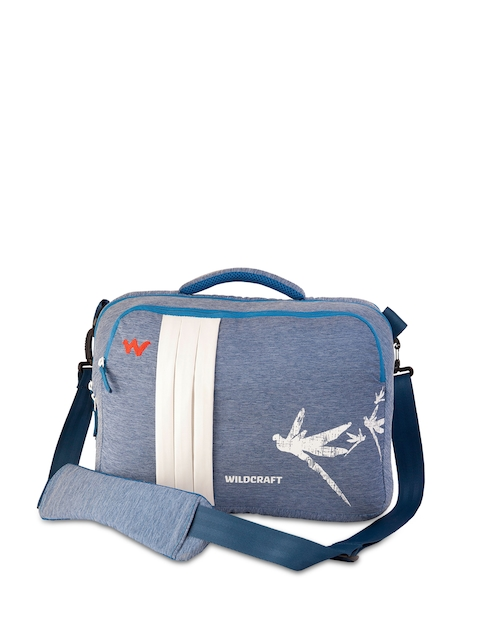 Wildcraft Women Blue Messenger Bag
