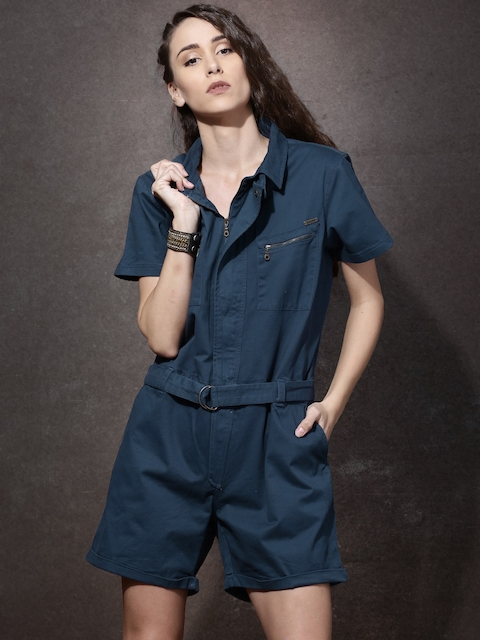 Roadster Blue Rompers