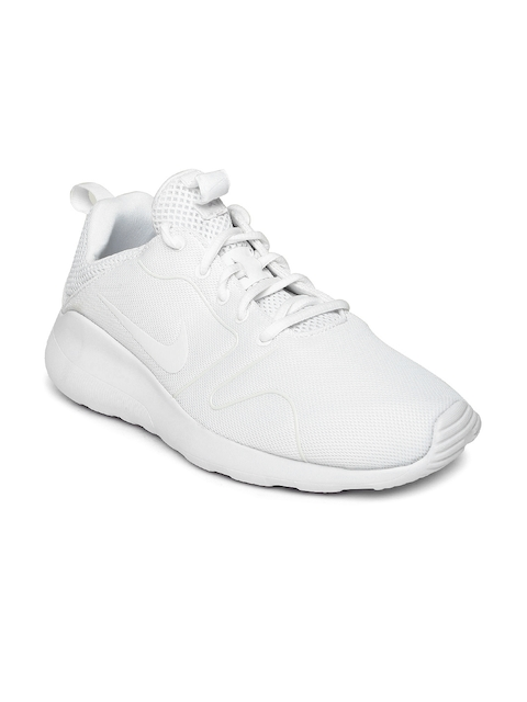 Nike Men White Kaishi 2.0 Sneakers