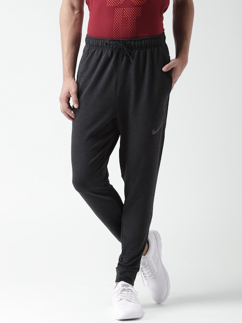 Nike Men Black AS DRI-FIT Training Fleece PNT Track Pants
