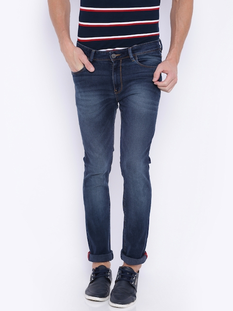 Arrow Men Blue Skinny Fit Stretchable Jeans